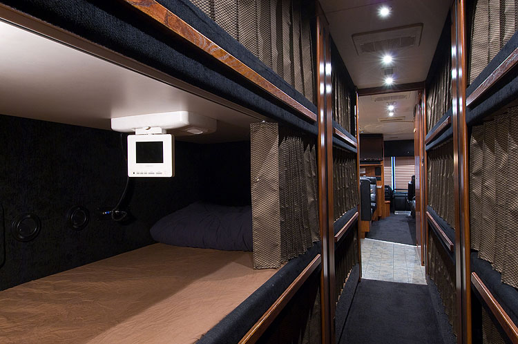 Tour Bus Interior Bunks | www.pixshark.com - Images ...